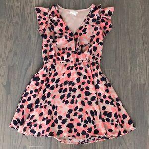 Romantic fall date night dress by PINKY sz XS